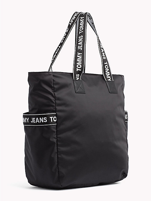 TOMMY JEANS Tommy Jeans Logo Tote - BLACK - TOMMY JEANS Shoes & Accessories - detail image 1