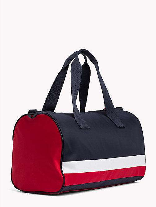 TOMMY HILFIGER Kids' Colour-Blocked Signature Duffle Bag - CORPORATE - TOMMY HILFIGER Shoes & Accessories - detail image 1