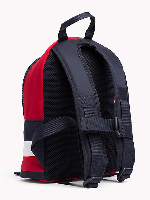 TOMMY HILFIGER Kids' Colour-Blocked Signature Backpack - CORPORATE - TOMMY HILFIGER Bags & Accessories - detail image 1