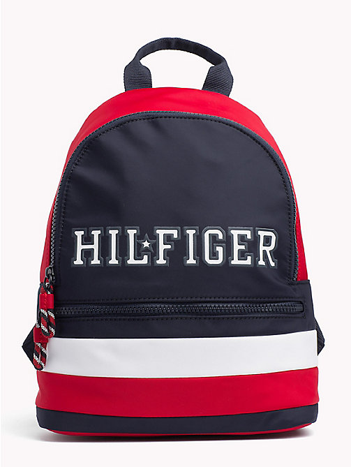 TOMMY HILFIGER Kids' Colour-Blocked Signature Backpack - CORPORATE - TOMMY HILFIGER Bags & Accessories - main image