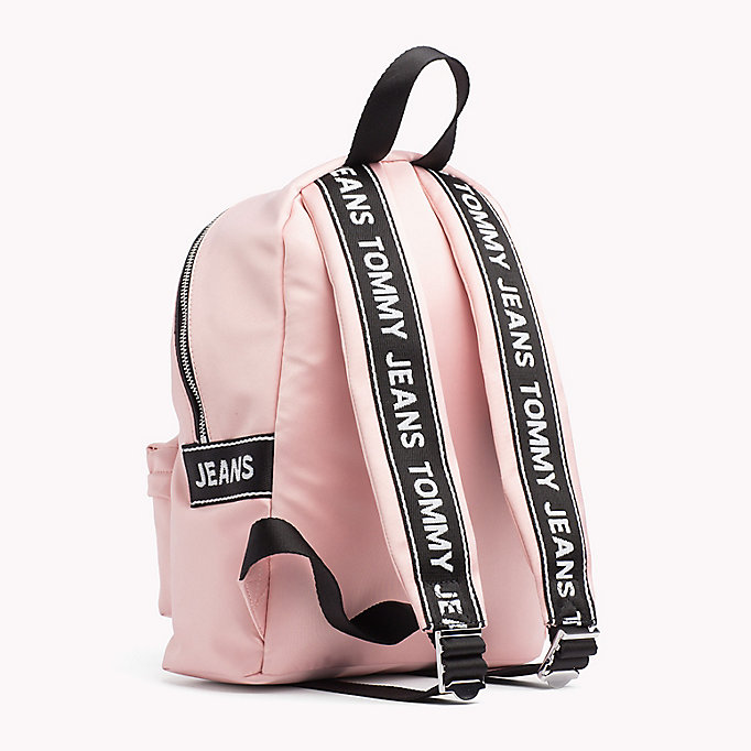 TOMMY JEANS Tommy Jeans Logo Satin Backpack - PUMICE STONE - TOMMY JEANS Women - detail image 1