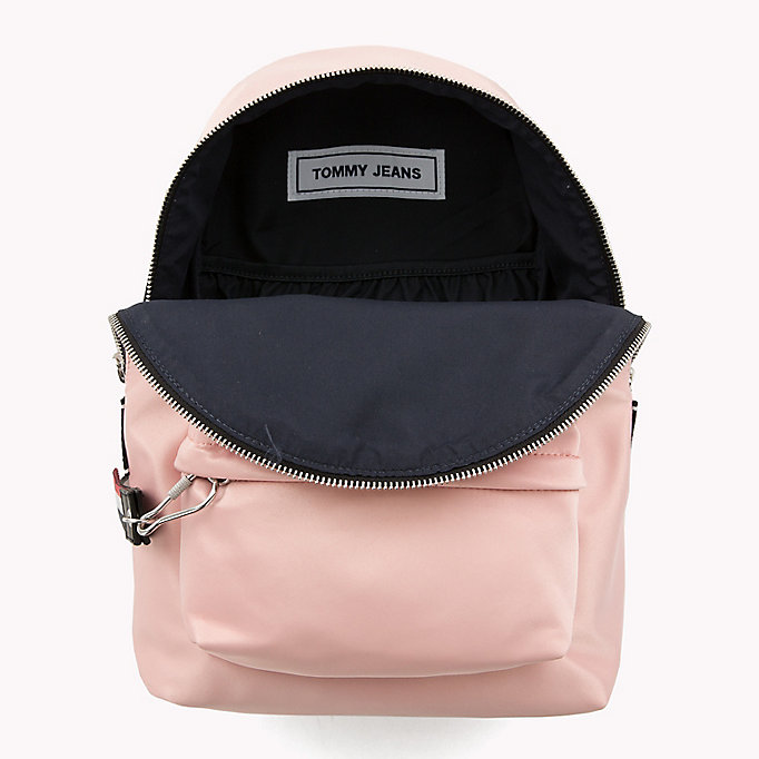 TOMMY JEANS Tommy Jeans Logo Satin Backpack - PUMICE STONE - TOMMY JEANS Women - detail image 2