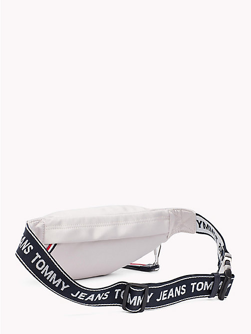 TOMMY JEANS Tommy Jeans Logo Satin Bumbag - PUMICE STONE - TOMMY JEANS Festivals Season - detail image 1