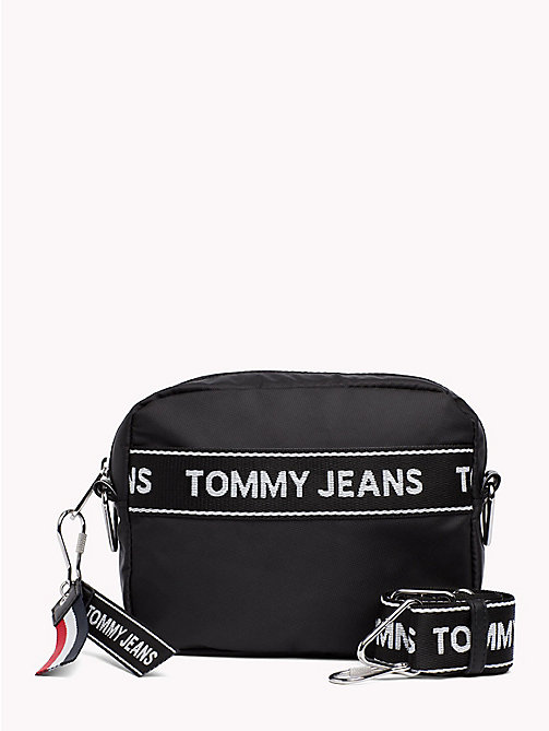 TOMMY JEANS Tommy Jeans Logo Camera Bag - BLACK - TOMMY JEANS Shoes & Accessories - main image