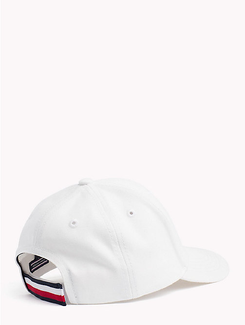 TOMMY HILFIGER Signature Tape Baseball Cap - SNOW WHITE - TOMMY HILFIGER Shoes & Accessories - detail image 1