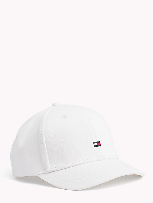 TOMMY HILFIGER Signature Tape Baseball Cap - SNOW WHITE - TOMMY HILFIGER Bags & Accessories - main image
