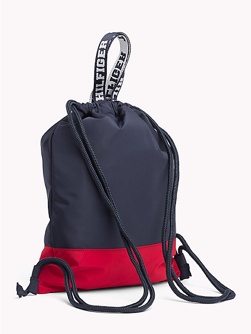 TOMMY HILFIGER TH Varsity Kids' Drawstring Rucksack - CORPORATE - TOMMY HILFIGER Shoes & Accessories - detail image 1