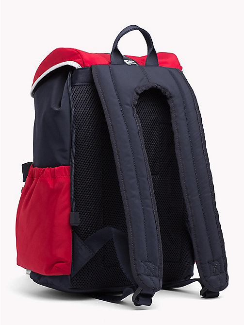 TOMMY HILFIGER TH Varsity Kids' Colour-Blocked Rucksack - CORPORATE - TOMMY HILFIGER Sports Capsule - detail image 1