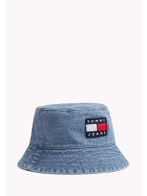 TOMMY JEANS 90s Style Bucket Hat - WASHED DENIM - TOMMY JEANS TOMMY JEANS Capsule - main image