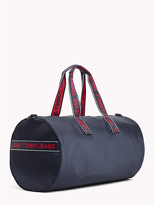 TOMMY JEANS Varsity Stripe Duffle Bag - BLACK IRIS - TOMMY JEANS Shoes & Accessories - detail image 1