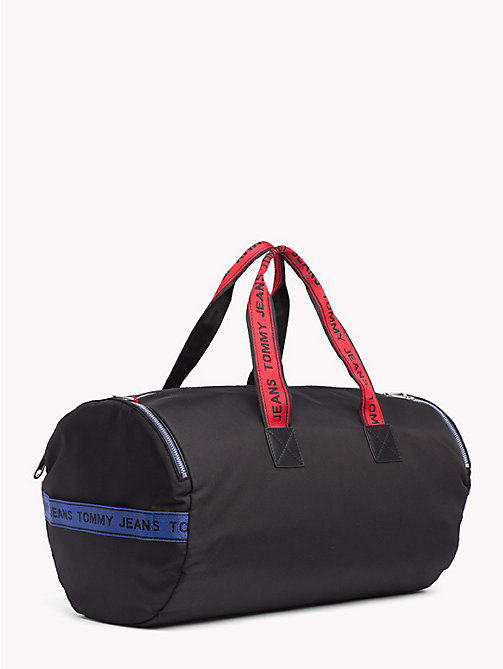 TOMMY JEANS Tommy Jeans Logo Tape Duffle Bag - BLACK MIX - TOMMY JEANS Bags & Accessories - detail image 1