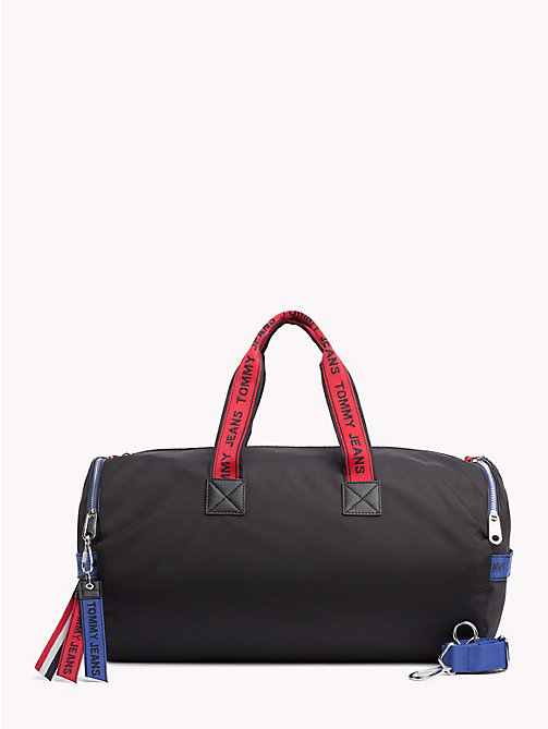 TOMMY JEANS Tommy Jeans Logo Tape Duffle Bag - BLACK MIX - TOMMY JEANS Bags & Accessories - main image