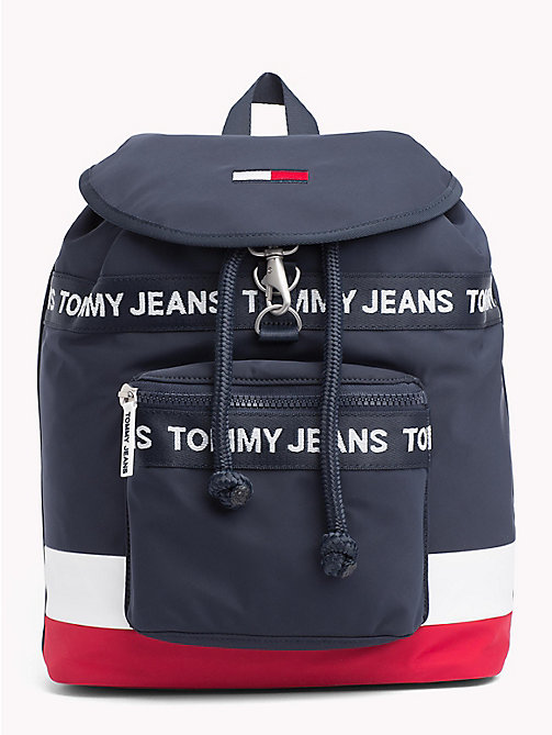 TOMMY JEANS Logo Tape Heritage Backpack - CORP MIX - TOMMY JEANS Shoes & Accessories - main image