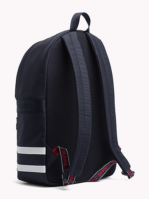 TOMMY JEANS Varsity Stripe Backpack - BLACK IRIS - TOMMY JEANS Shoes & Accessories - detail image 1