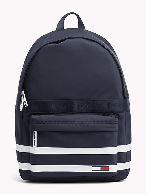 TOMMY JEANS Varsity Stripe Backpack - BLACK IRIS - TOMMY JEANS Shoes & Accessories - main image