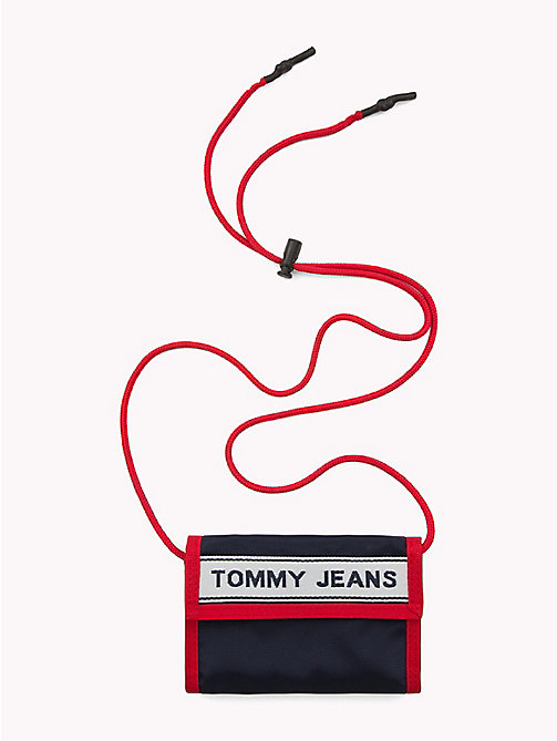 TOMMY JEANS Brieftasche mit Tommy Jeans Logo-Tape - CORP MIX - TOMMY JEANS Bags & Accessories - main image