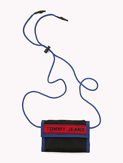 TOMMY JEANS Tommy Jeans Logo Tape Wallet - BLACK MIX - TOMMY JEANS Wallets - main image