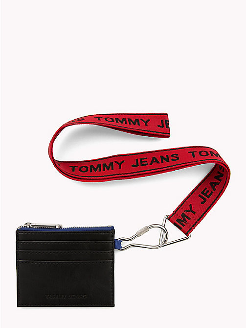 TOMMY JEANS Kartenetui mit Tommy Jeans-Logo - BLACK MIX - TOMMY JEANS Portemonnaies - main image