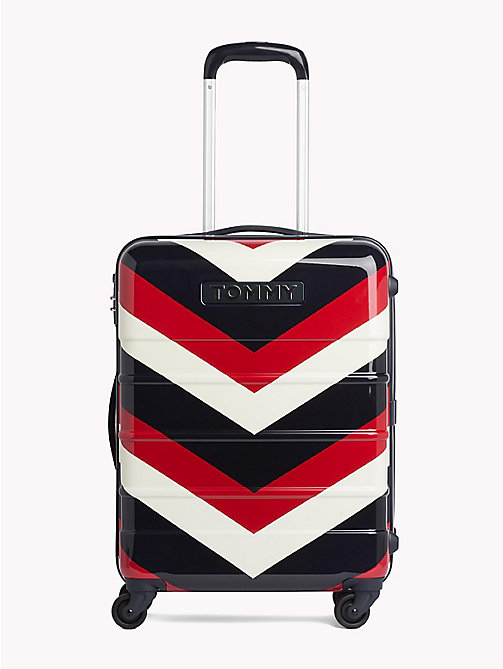 TOMMY HILFIGER Chevron Stripe Small Suitcase - CHEVRON CORPORATE - TOMMY HILFIGER NEW IN - main image