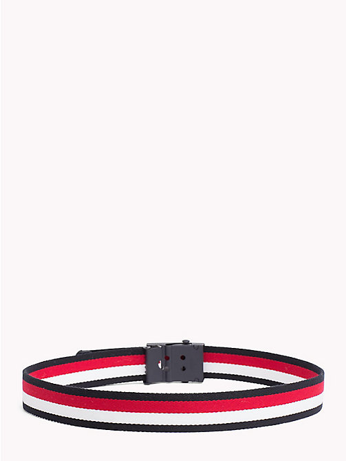 TOMMY HILFIGER Signature Kids' Webbing Belt - CORPORATE - TOMMY HILFIGER Shoes & Accessories - detail image 1
