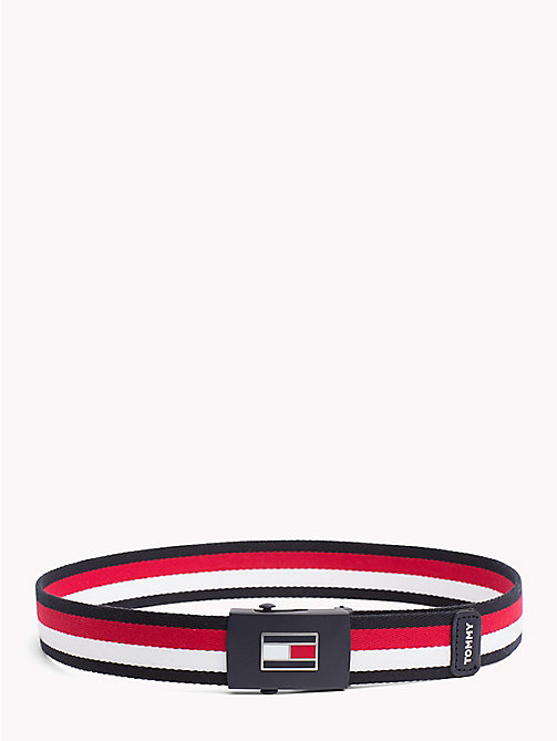 TOMMY HILFIGER Signature Kids' Webbing Belt - CORPORATE - TOMMY HILFIGER Shoes & Accessories - main image