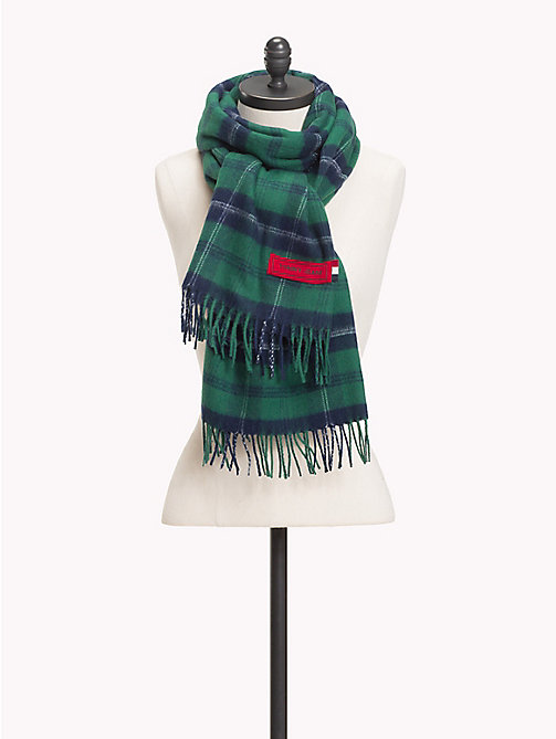 TOMMY JEANS Fringed Scarf - PLAID CHECK - TOMMY JEANS Bags & Accessories - main image
