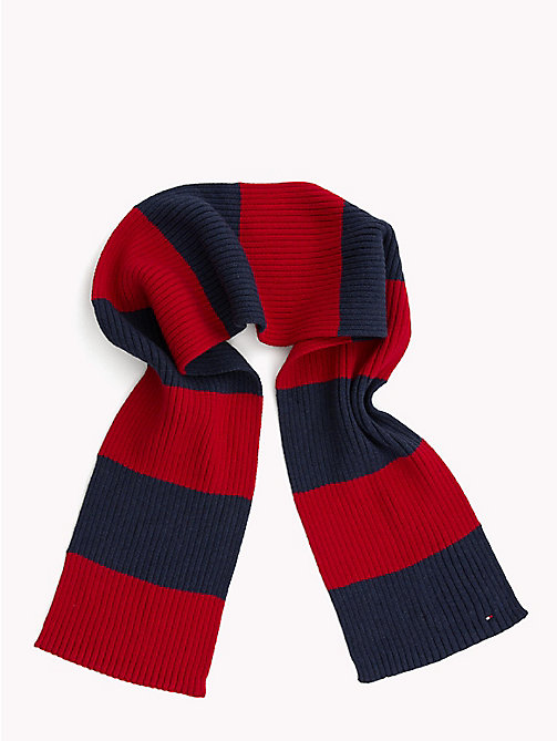 TOMMY HILFIGER Kids' Chunky Knit Scarf - CORPORATE - TOMMY HILFIGER Shoes & Accessories - main image