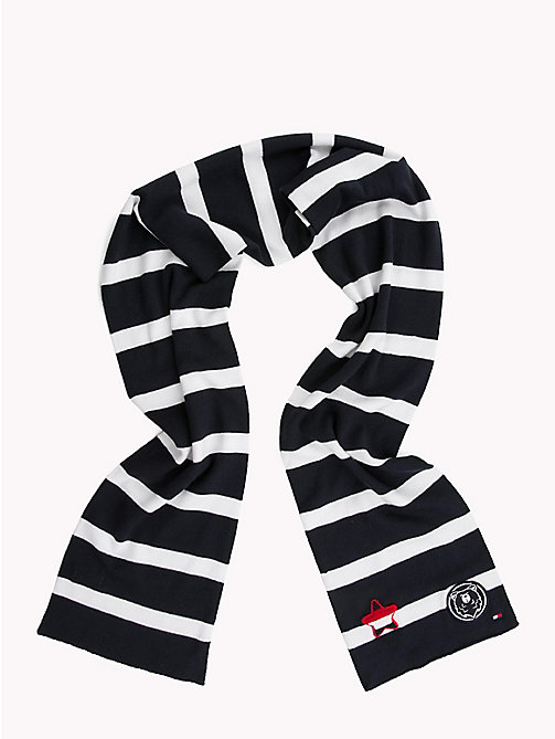 TOMMY HILFIGER Varsity Stripe Kids' Scarf - CORPORATE - TOMMY HILFIGER Shoes & Accessories - main image