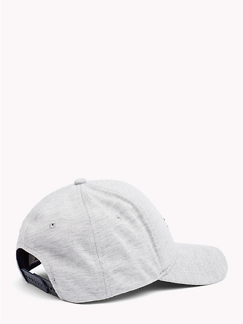 TOMMY JEANS Flag Baseball Cap - LIGHT GREY HEATHER - TOMMY JEANS Hats - detail image 1