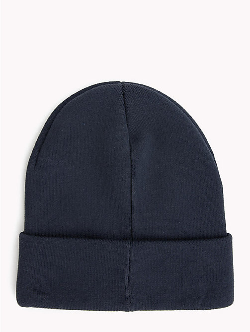 TOMMY JEANS Tommy Jeans Logo Beanie - BLACK IRIS - TOMMY JEANS Hats - detail image 1