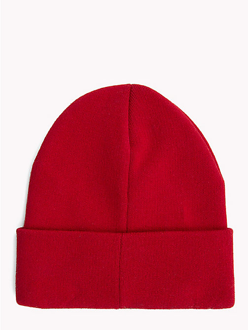 TOMMY JEANS Tommy Jeans Logo Beanie - TOMMY RED - TOMMY JEANS Hats - detail image 1