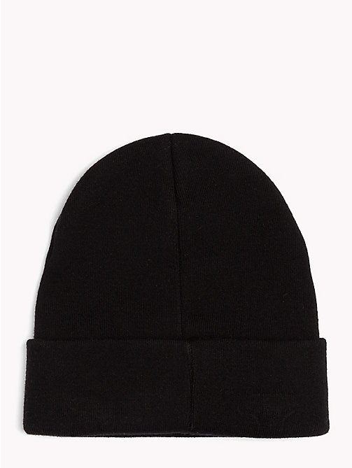 TOMMY JEANS Bonnet style universitaire Tommy Jeans - BLACK - TOMMY JEANS Bonnets - image détaillée 1