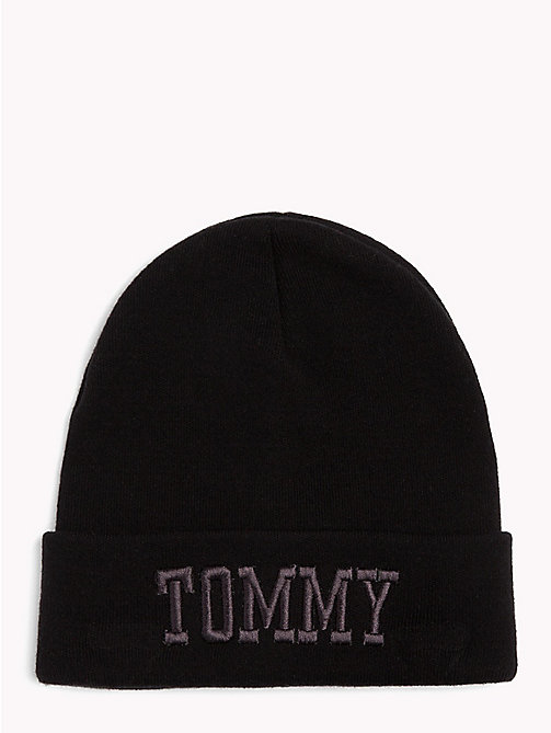 TOMMY JEANS Bonnet style universitaire Tommy Jeans - BLACK - TOMMY JEANS Bonnets - image principale