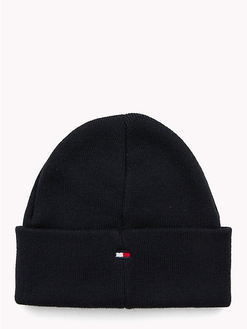 TOMMY HILFIGER Knitted Flag Kids' Beanie - TOMMY NAVY - TOMMY HILFIGER Boys - detail image 1