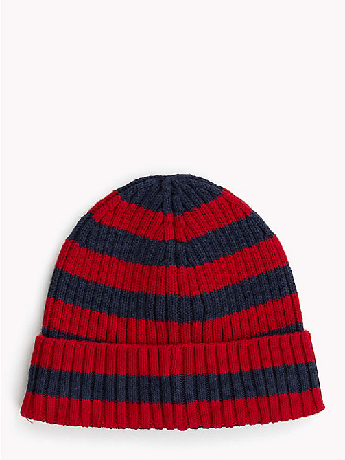 TOMMY HILFIGER Kids' Chunky Knit Beanie - CORPORATE - TOMMY HILFIGER Boys - detail image 1