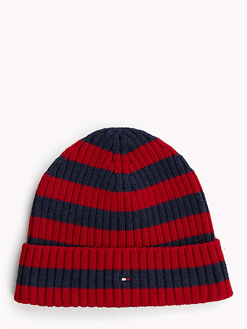 TOMMY HILFIGER Kids' Chunky Knit Beanie - CORPORATE - TOMMY HILFIGER Shoes & Accessories - main image