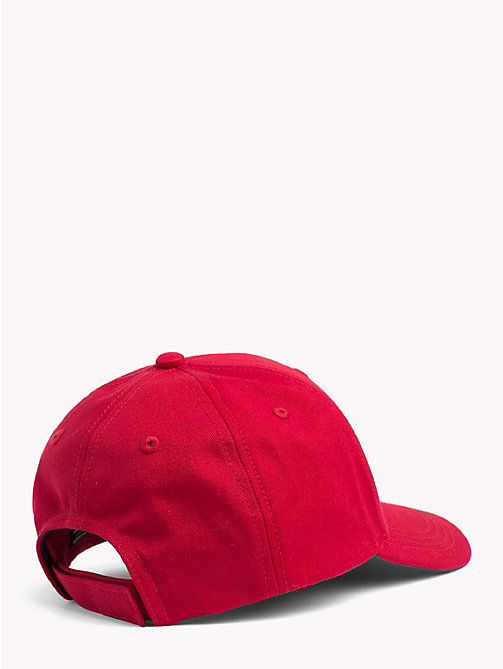 TOMMY HILFIGER Classic Kids' Baseball Cap - TOMMY RED - TOMMY HILFIGER Boys - detail image 1