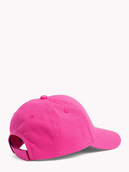 TOMMY HILFIGER Classic Kids' Baseball Cap - PINK FLAMBE - TOMMY HILFIGER Shoes & Accessories - detail image 1