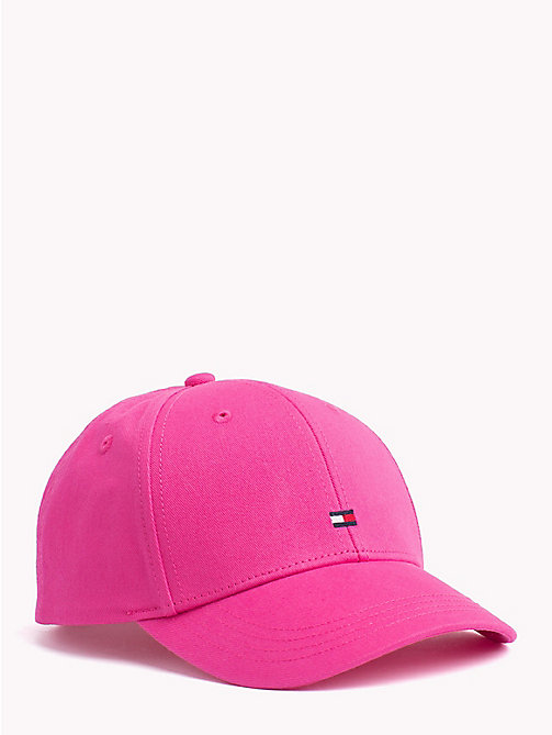 TOMMY HILFIGER Classic Kids' Baseball Cap - PINK FLAMBE - TOMMY HILFIGER Shoes & Accessories - main image