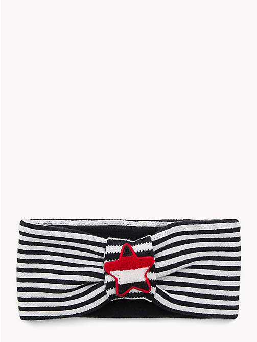 TOMMY HILFIGER Kids' Star and Stripe Headband - CORPORATE - TOMMY HILFIGER Sports Capsule - main image