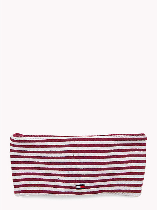 TOMMY HILFIGER Kids' Star and Stripe Headband - RUMBA RED/ WHITE - TOMMY HILFIGER Shoes & Accessories - detail image 1