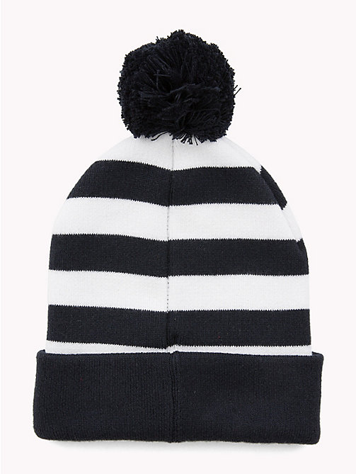 TOMMY HILFIGER Kids' Stripe Bobble Beanie - CORPORATE - TOMMY HILFIGER Boys - detail image 1