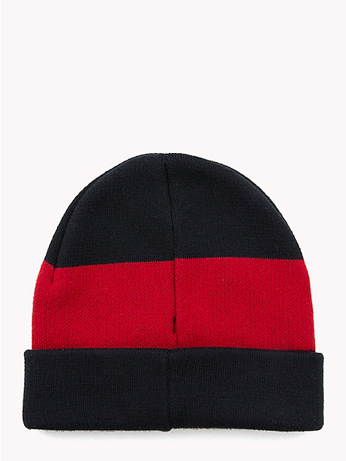 TOMMY HILFIGER Colour-Blocked Kids' Beanie - CORPORATE - TOMMY HILFIGER Boys - detail image 1