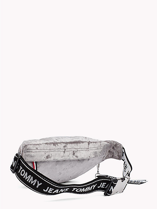 TOMMY JEANS Logo Tape Velvet Bumbag - CASTLEROCK - TOMMY JEANS Shoes & Accessories - detail image 1