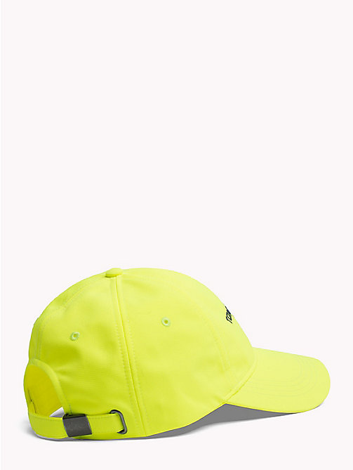 TOMMY JEANS 90s Style Soft Baseball Cap - SAFETY YELLOW - TOMMY JEANS Capsule - detail image 1