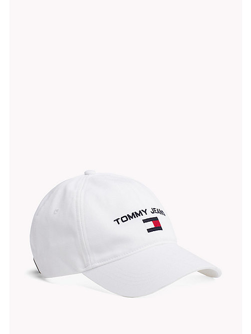 TOMMY JEANS Weiches 90s Baseballcap - BRIGHT WHITE - TOMMY JEANS TOMMY JEANS Capsule - main image