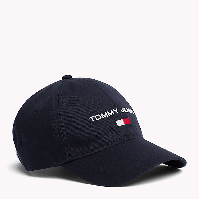 TOMMY JEANS 90s Style Soft Baseball Cap - BRIGHT WHITE - TOMMY JEANS Women - main image