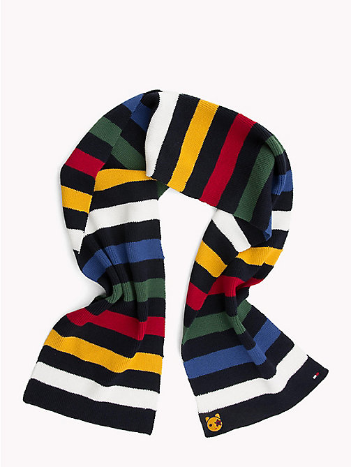 TOMMY HILFIGER Kids' Mascot Stripe Scarf - MULTICOLOR - TOMMY HILFIGER Shoes & Accessories - main image