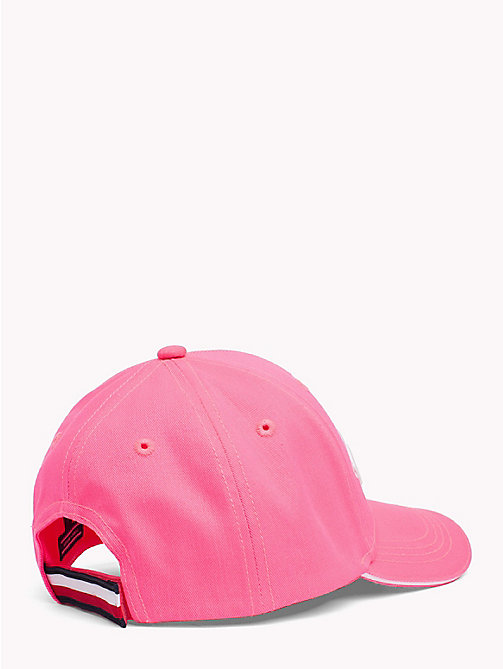 TOMMY HILFIGER UNISEX TOMMY CAP - NEON PINK - TOMMY HILFIGER Shoes & Accessories - detail image 1