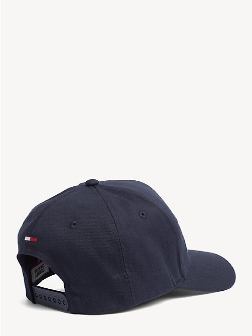 TOMMY JEANS Baumwoll-Cap mit Tommy Jeans-Logo - BLACK IRIS - TOMMY JEANS Schuhe & Accessoires - main image 1